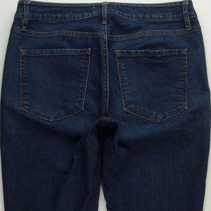 LOFT Curvy Skinny Jeans Women's 28/6 Stretch A183J